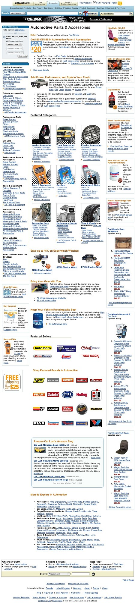 Automotive Parts and Accessories Store