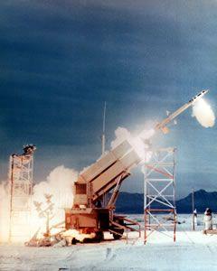 パトリオット3ミサイル(PAC3)イメージ