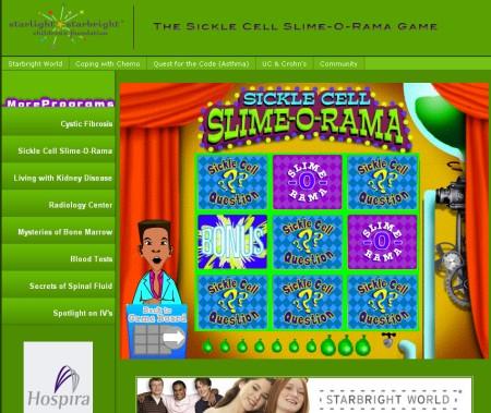 スターライト・スターブライト児童基金のブラウザゲーム