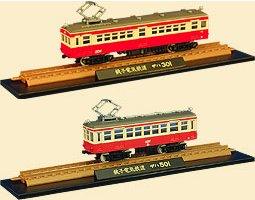 鉄道コレクション第一弾・銚子鉄道の車両「デハ301」「デハ501」イメージ