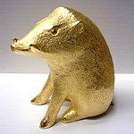 2007万円の純金イノシシイメージ