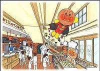 ジャムおじさんのパン工場イメージ