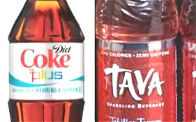 「ダイエット・コーク・プラス(Diet Coke plus)」「タバ(TAVA)」イメージ