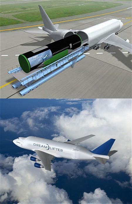 ボーイング747 LCF(Large Cargo Freighter)(通称はドリームリフター、Dream Lifter)