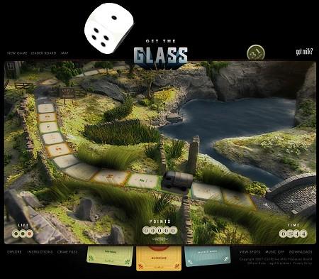 プレイヤーはトラック、追いつかれちゃいけない敵はパトカー。シンプルな逃走劇型すごろく。