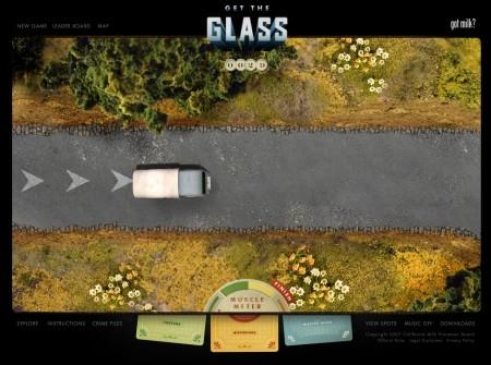 こちらのミニゲームは比較的簡単。マウスの操作で車をゴールまで運ばせるだけ。ダメージを受けすぎるとアウト。