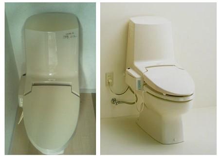 該当する温水洗浄便座一体形便器