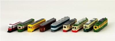 今回用意される路面電車。サイズがどの程度の大きさになるのか不明だが、正直「大人買い」したくなりそう。