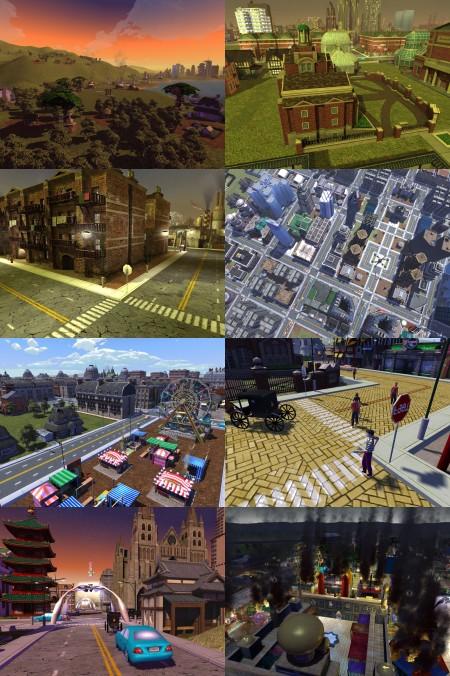 プレイヤーの政策次第で都市の様相が変わる点はこれまでのシリーズ通りだが、ビジュアル的な面でここまで大きく変わりうるのは面白い。文化的だったり幻想的だったり、ハイテク都市のような雰囲気を感じられるものだったり……。『シヴィライゼーション』シリーズのような、文化形態と経営との関係も織り込まれているのか、興味深いところでもある。