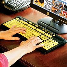 Large Print Keyboards-Keys U Seeイメージ