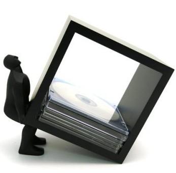 「Human CD Holder Lifting Man」(ヒューマンCDホルダー・リフティングマン)