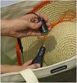 「JUICE BAG:SOLAR BEACH TOTE」接続部分イメージ