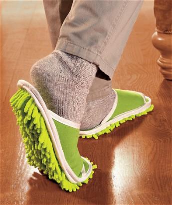 「Slipper Genie」。歩くだけで掃除も簡単……なのか?