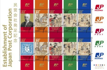 記念切手……郵政史