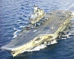 アドミラル-クズネツォフ級空母(重航空巡洋艦)のネームシップ、クズネツォフ(Kuznetsov)イメージ