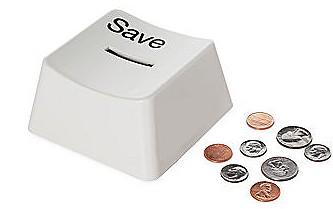 セーブキーな貯金箱「Auto Save(SAVE KEY BANK)」