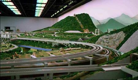 日本最大の鉄道模型レイアウト(ジオラマ)