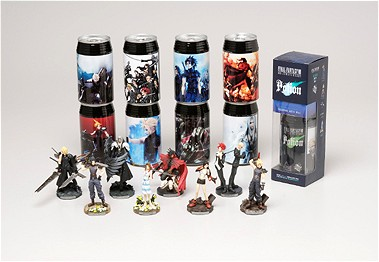 「FINAL FANTASY VII POTION with TRADING ARTS Mini」