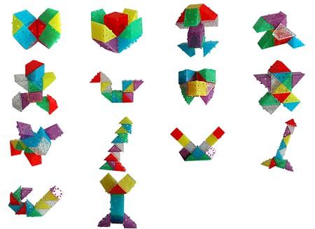 デルブロ12個で作れる作品例