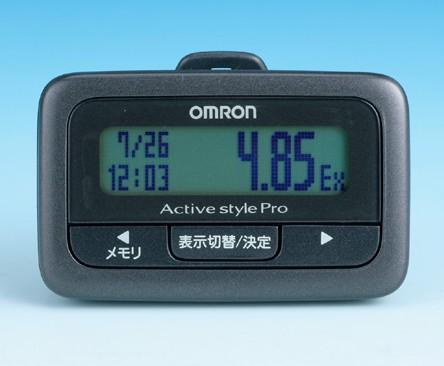 「オムロン活動量計Active style Pro HJA-350IT」