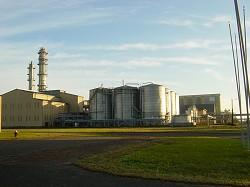 バイオエタノール精製工場イメージ