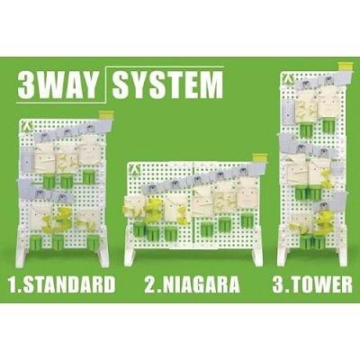 パネルは3通りのスタイルに設置可能。そのパネルの上にそれぞれの「仕掛け」を配置できる