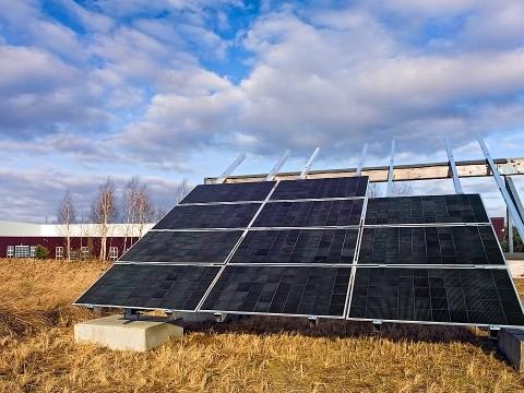ドイツの発電所に供給されたNanosolar社の太陽電池(リリースから)