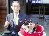 トップランナー賞受賞時の猫駅長「たま」イメージ