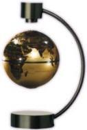 磁石で宙に浮く地球儀イメージ