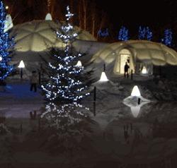 氷のホテル外見イメージ