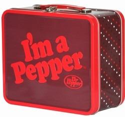 ドクターペッパーのお弁当箱イメージ