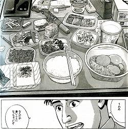 「孤独のグルメ」から・コンビ二で買った夜食群イメージ