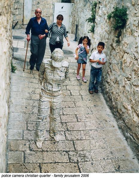 エルサレムでの撮影写真。子どもの「ちょ、何アレ」という声が聞こえてきそう。