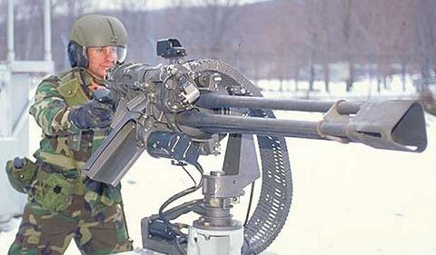 搭載予定のGAU-19ガトリンク砲