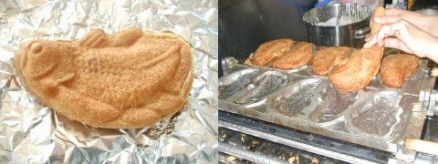 「ごんべ焼き」とその製造工程。神秘的な姿に驚き、口にするのもちょっとちゅうちょ?