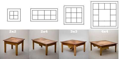 ドラムテーブルのサイズ