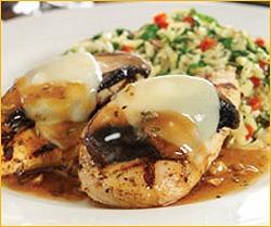 Romano's Macaroni Grill Chicken Portobello