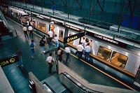 公共交通機関としての鉄道イメージ