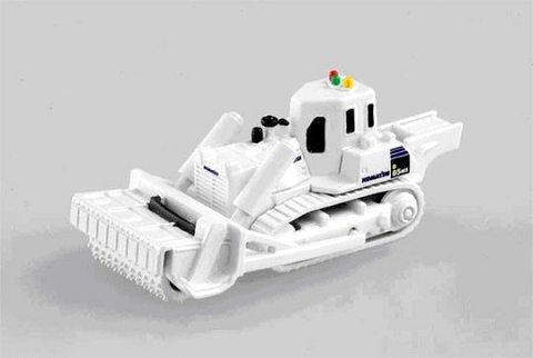 新発売のトミカ「コマツ対人地雷除去機 D85MS」