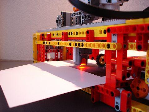 レゴ製フィルムスキャナ