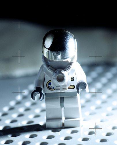 アポロ11号による有人月面着陸(1969年)の瞬間もレゴ化