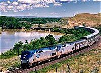 アメリカの鉄道イメージ