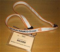 バンダイナムコホールディングスの株主総会ネームホルダーイメージ