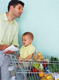 スーパーでの買い物イメージ