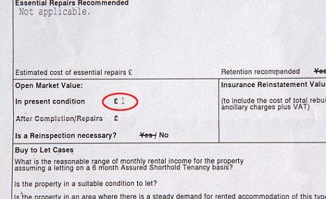 鑑定士による判定書類(赤丸は当方で追加)。「Is a Reinspection necessary?」とは「再鑑定の必要はあるか」とのこと。「No(必要なし)」の言葉がむなしく写る。