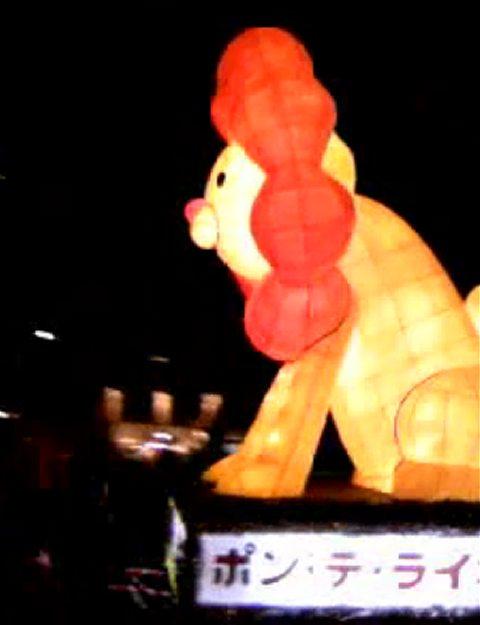 青森ねぶた祭のポン・デ・ライオン