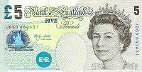 5ポンド紙幣イメージ
