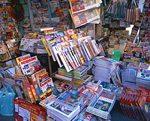 街の個人経営的な本屋イメージ