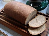 全粒粉の食パンイメージ