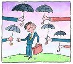 過度な保険加入イメージ